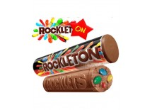 BARRITA DE CHOCOLATE ROCKLETON X 16 UNIDADES X 216 GR