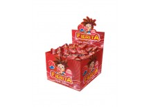 CHICLES OPEN CANDY FIERITA FRUTILLA X 300 GRS X 100 U